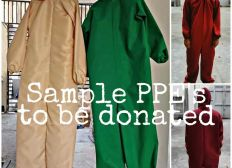 Project PPE's Donation for our Frontliners in PH by ArlouAnneKlein