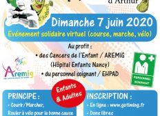 Le Marathon d'Arthur - 7 juin 2020