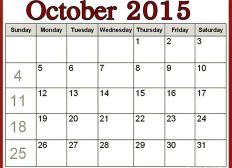 Downloadable Catholic Calendar 2015