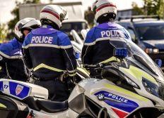 Soutien aux policiers motocyclistes fauchés