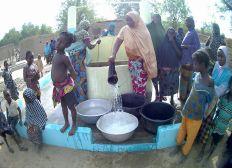 Création de puits au Bénin nord