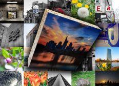 Fotokunst für Zuhause: Fotoquader, 10 x 10 cm, Serienproduktion