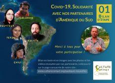 COVID-19 AMÉRIQUE DU SUD, SOLIDARITÉ AVEC NOS PARTENAIRES