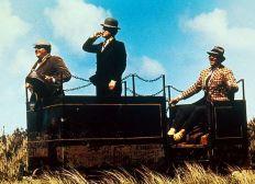Feldbahn Lok aus dem Film die Olsenbande fährt nach Jütland