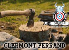 Salle de Lancer de Hache à Clermont Ferrand !