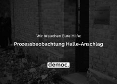 Prozessbeobachtung Halle-Anschlag