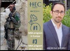 Soutenez la reconversion d'un blessé de guerre, David Rocher, pour son M.B.A. à HEC Paris