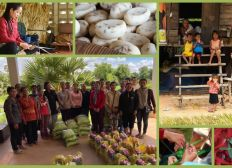 Dons de denrées alimentaires aux familles - CAMBODGE
