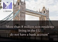 Bank account with debit card for NON RESIDENTS and RESIDENTS living in EU Liberon Card