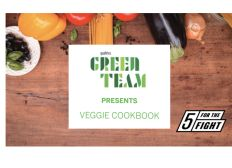 Green Team - Veggie Cookbook Donations
