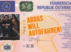 Für Abbas' Führerschein