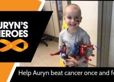 Sid's 'Hair Cut' fundraiser for Auryn's Heros  #aurynsheroes