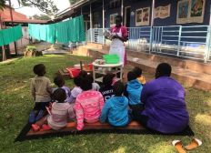Africa Night Sanyu Babies Home Project