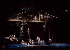 Vertikalseil für Zirkus Impuls