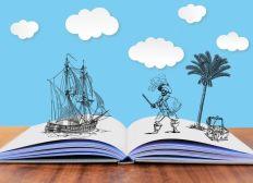 Der große blaue Pirat - Kinderbuch
