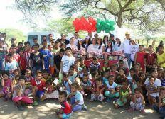 Computer für benachteiligten Kindern in Kolumbien