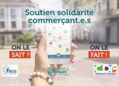 Soutien solidarité commerçant.e.s