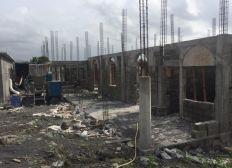 Construction de la mosquée de l'aéroport de Moroni Hahaya
