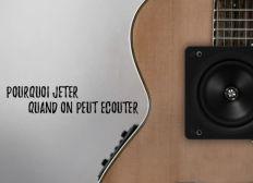 Recyclage guitares dégradées