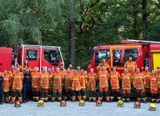 Calendrier 2021 des Sapeurs-Pompiers des Essarts (Vendée)