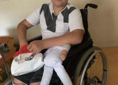 Un fauteuil roulant électrique pour Noël