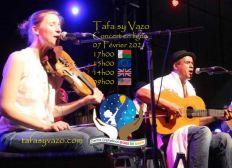 Concert Tafa sy Vazo - Erick Manana & Jenny Fuhr