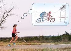 J'ai perdu la vue, pas les pédales! Un vélo tandem pour une nouvelle vie handisport!