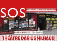 Sauvons le Théâtre Darius Milhaud