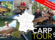 Le voyage d'une vie: Carp Tour 360, tour de France de pêche à la carpe
