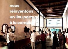 #13vents Sainte-Valiere ! 2000m2 de cowork&culture au coeur du Minervois