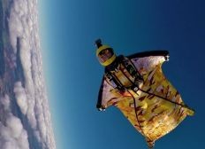 Entrainements Championnat de France de Wingsuit