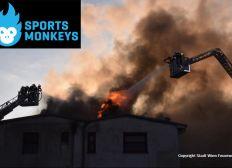 Monkeys Arena Akuthilfe nach dem Brand