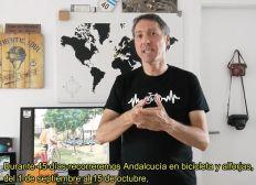 Vuelta de Andalucía en silencio 2.500 kms