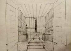 un sauna mobile