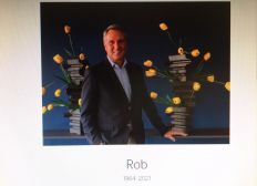 In memory of our friend Rob Swartbol