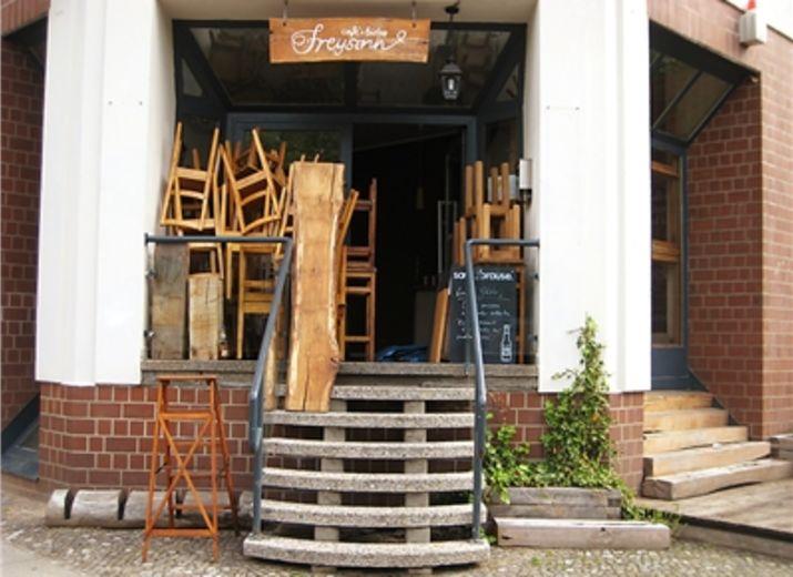 Unterstützung für Wiederaufbau café freysinn