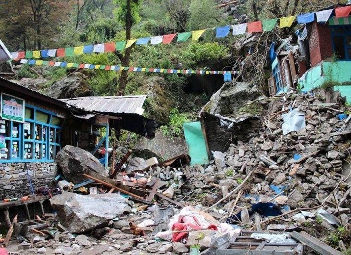 Aider les villages au Népal
