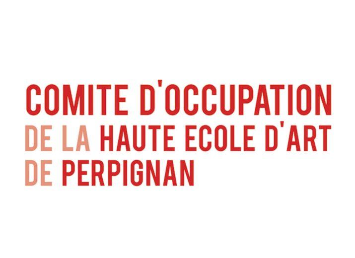 je soutiens l'occupation de la Haute Ecole d'Art de Perpignan