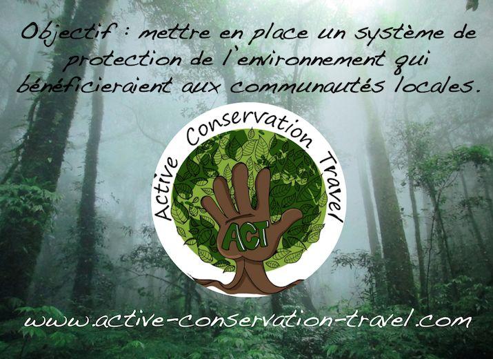 Soutenez le projet ACT (Active Conservation Travel)