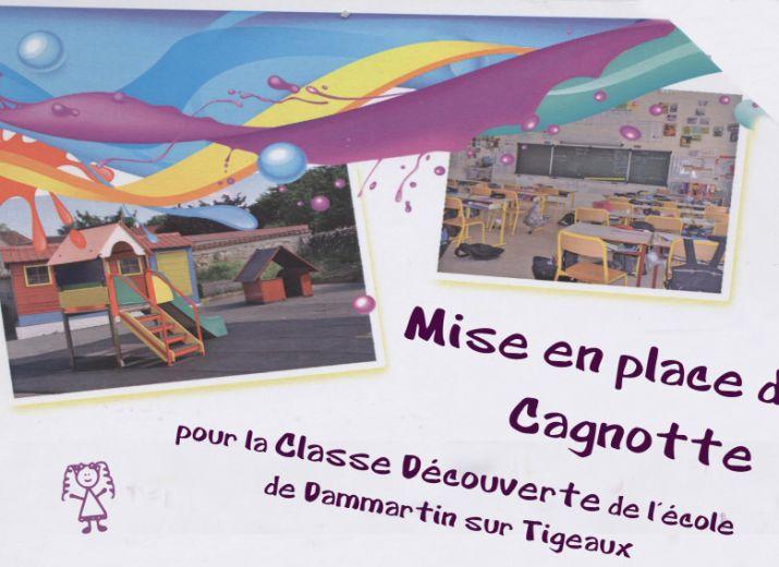 Projet classe découverte pour les enfants de Dammartin sur Tigeaux et Tigeaux