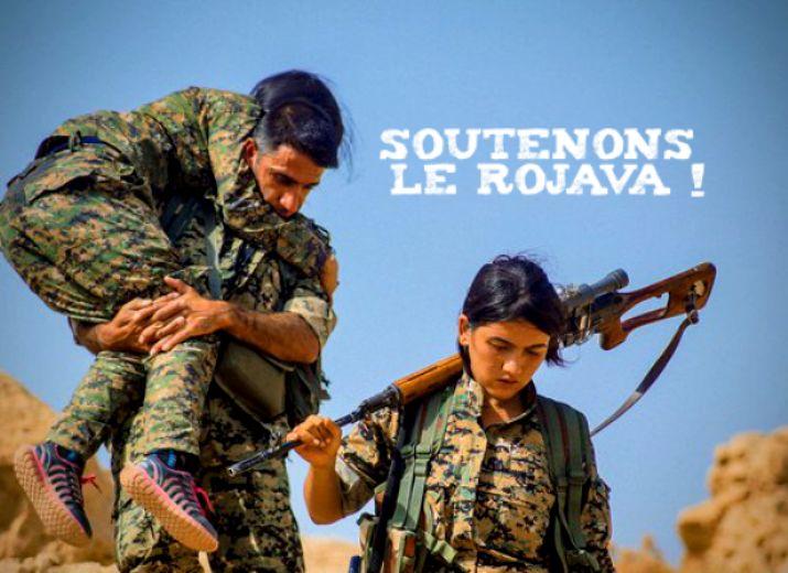 Des pansements contre les hémorragies pour les combattantes et combattants du Rojava
