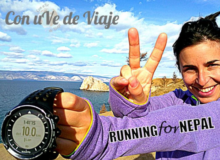 "Bote solidario ""Running for Nepal"""