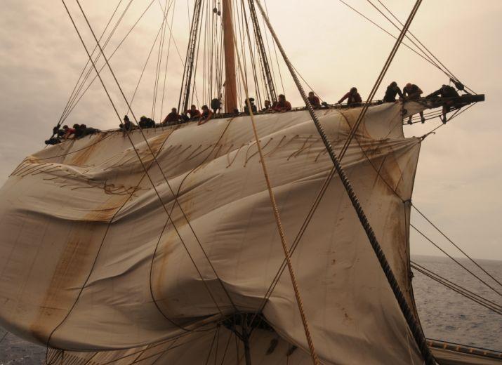 """Les gabiers de l'Hermione, pour une navigation """"libre accès""""!"""