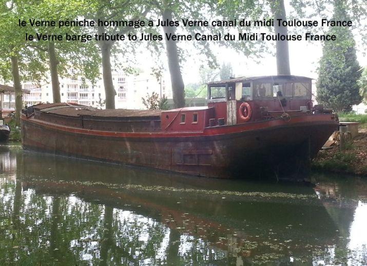 Péniche le Verne