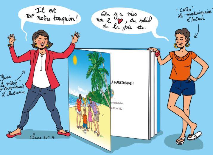 """Livre """"En route pour la Martinique !"""""""
