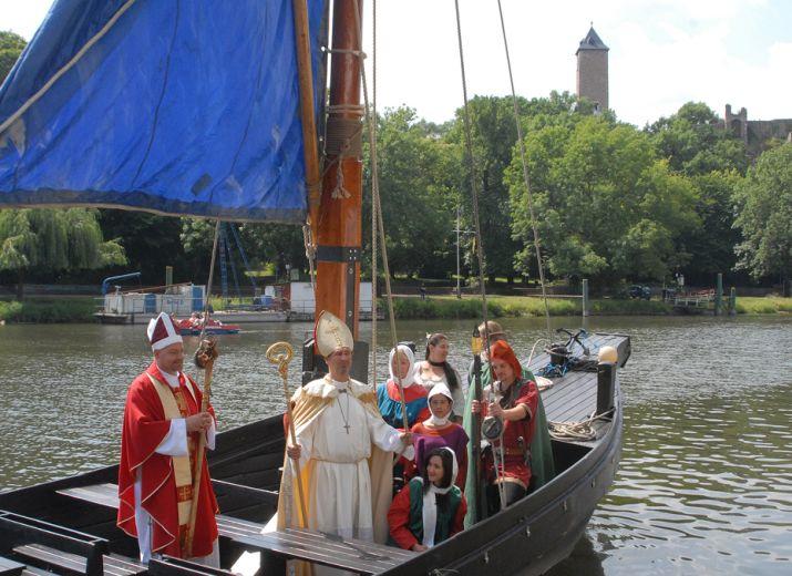 Thietmars große Flussreise - Live Reenactment