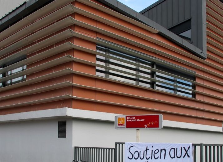 Collège Edouard Branly de Grand Quevilly : soutien financier aux enseignants attaqués en justice