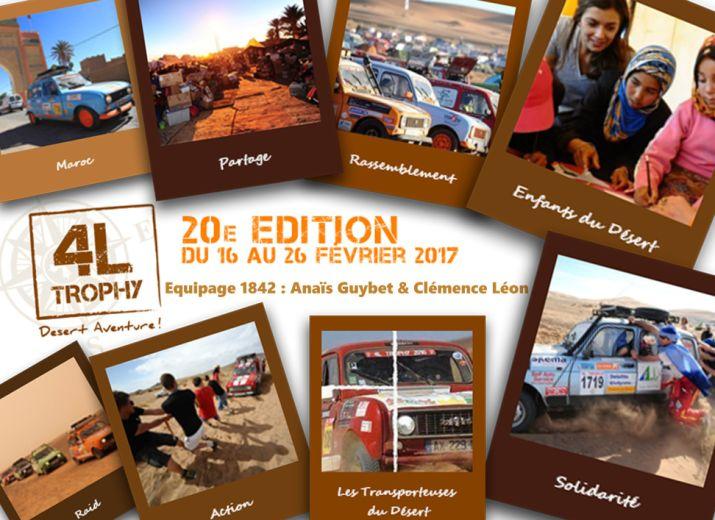 Les Transporteuses du Désert - 4L Trophy 2017