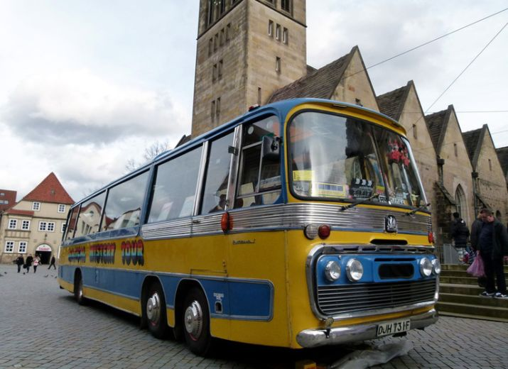 Magical Mystery Tour  Bus Projekt