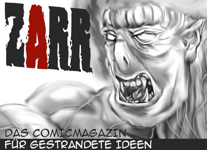 ZARR - Comicmagazin für gestrandete Ideen